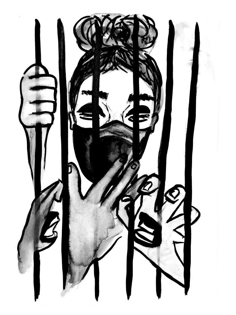 Imaginează-ți că copilul tău interior vrea să scape din locul unde îl ții închis. Cum e pentru tine? Imagine realizată de Denisa Chinez.